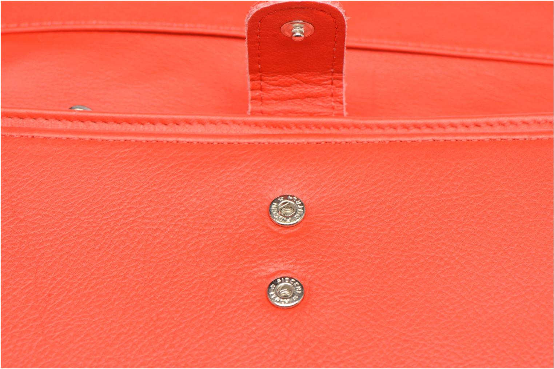 Portemonnaies & Clutches Sabrina Zoé rot ansicht von links