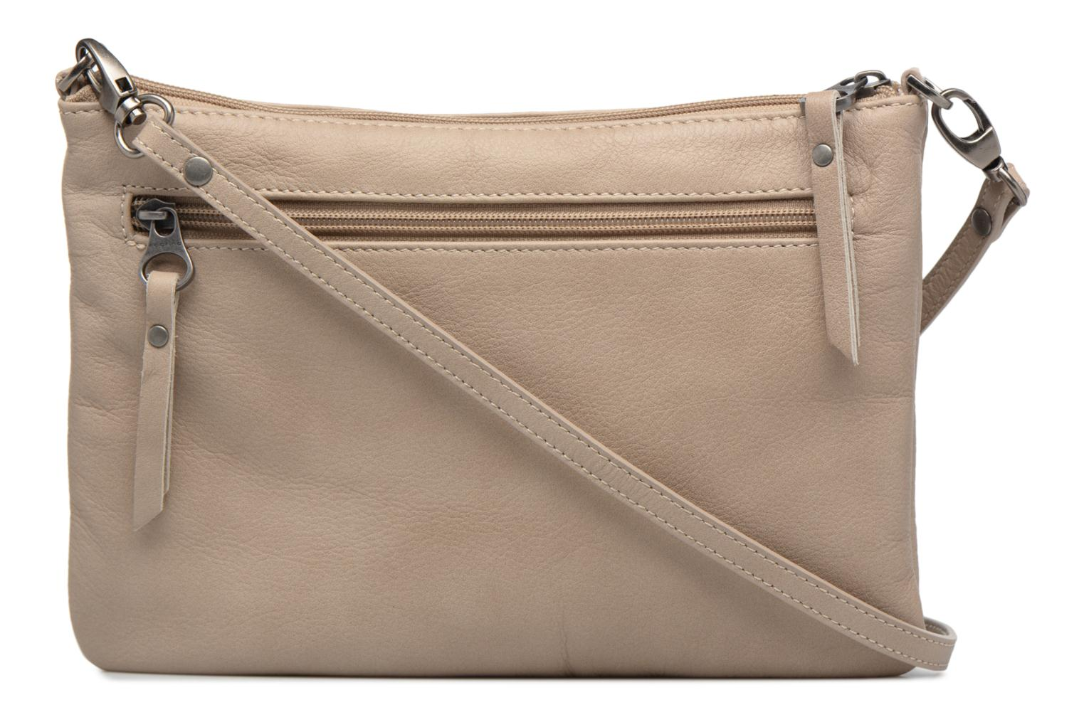 Clutch bags Sabrina Manon Beige front view