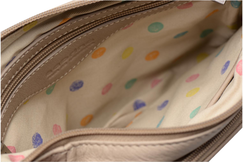 Clutch bags Sabrina Manon Beige back view