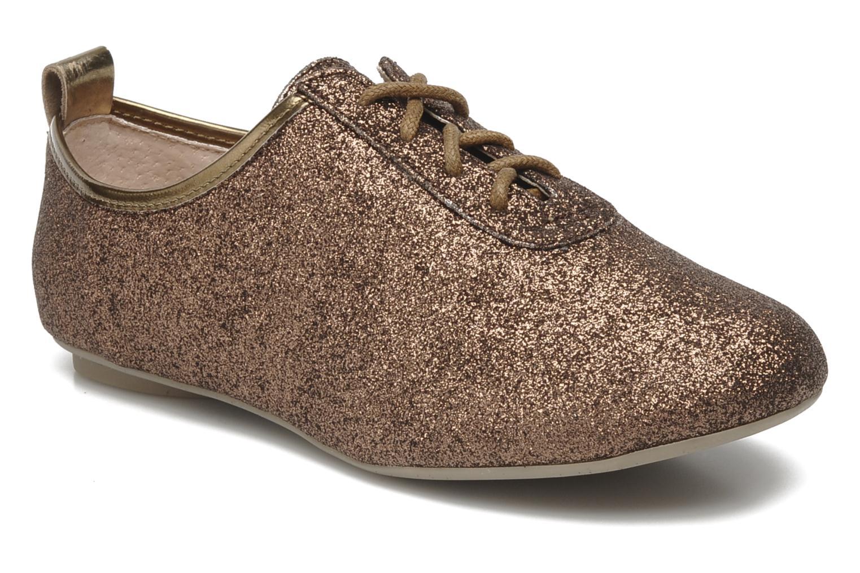 Zapatos con cordones Mellow Yellow Mini Moonwolk Oro y bronce vista de detalle / par
