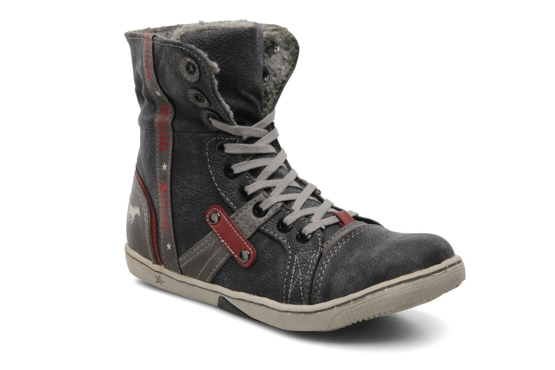 Sneaker Mustang shoes Mukki grau 3 von 4 ansichten