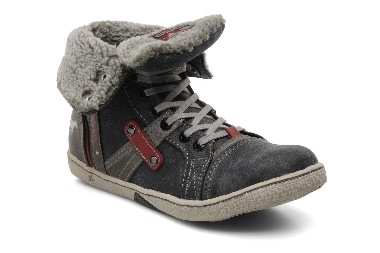 Baskets Mustang shoes Mukki Gris vue détail/paire