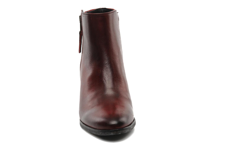 Stiefeletten & Boots Pastelle Maureen weinrot schuhe getragen