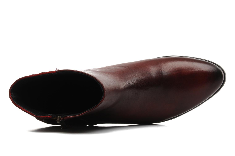 Stiefeletten & Boots Pastelle Maureen weinrot ansicht von links