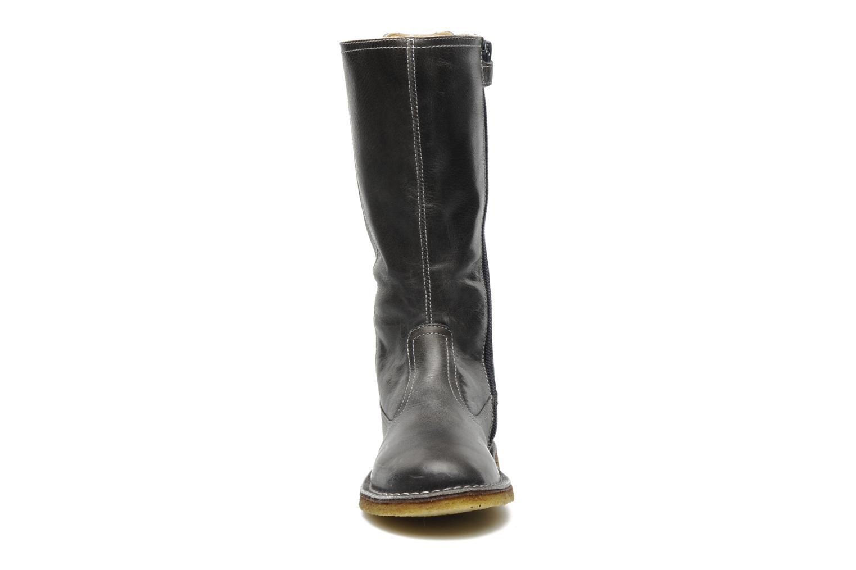 Stiefel Naturino Caserta grau schuhe getragen