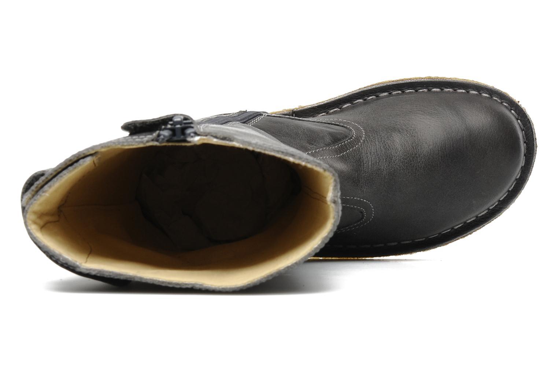 Stiefel Naturino Caserta grau ansicht von links