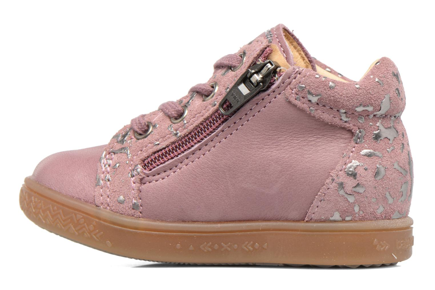 Sneakers Babybotte Apache Rosa immagine frontale