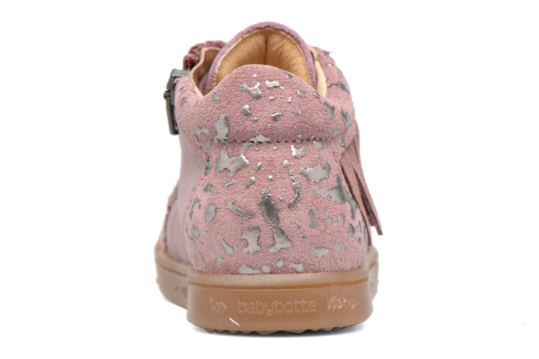 Sneakers Babybotte Apache Rosa immagine destra