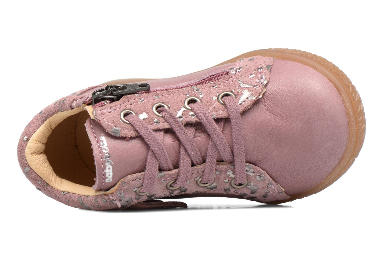 Sneakers Babybotte Apache Rosa immagine sinistra