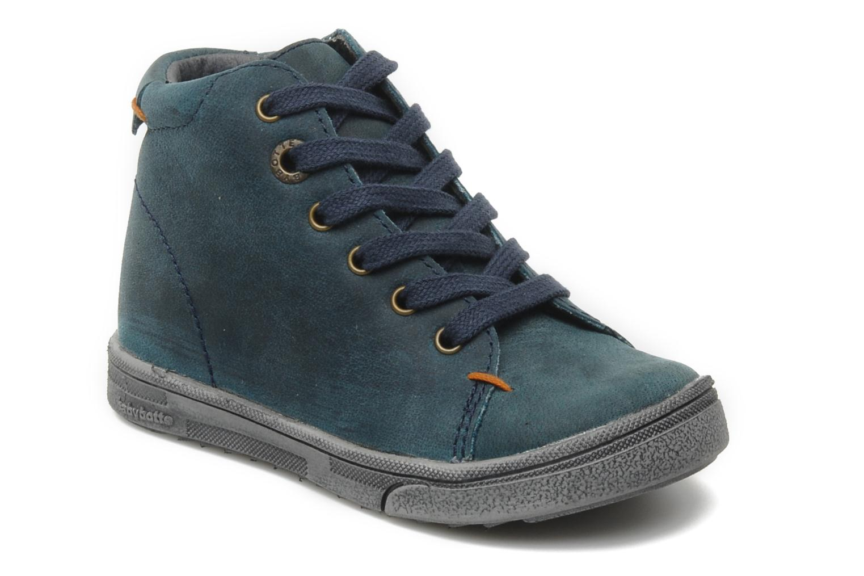 Boots en enkellaarsjes Babybotte Antzo Blauw detail