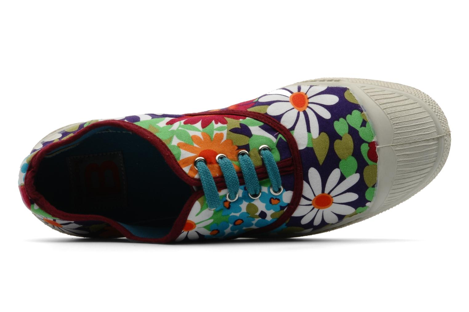 Sneakers Bensimon Tennis Fleurs Exclu Multicolore immagine sinistra