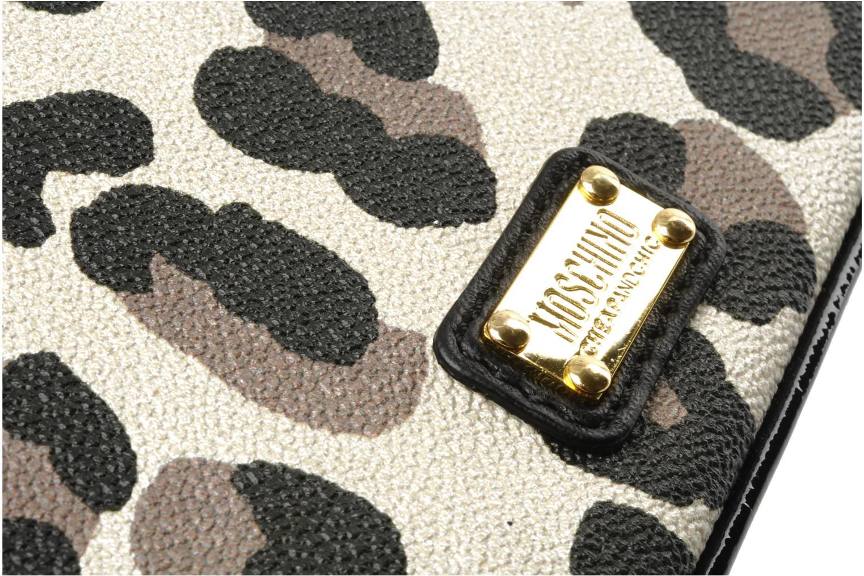 Handtaschen Moschino Cheap & Chic Maculato PVC Borsa Tracolla mehrfarbig ansicht von links