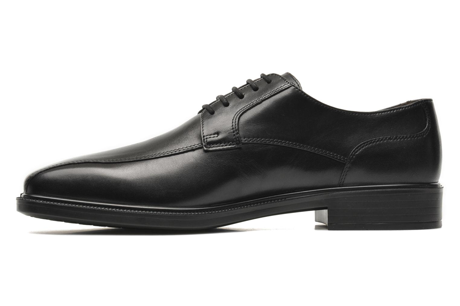 Lace-up shoes Geox U ALEX A ABX A U44C4A Black front view