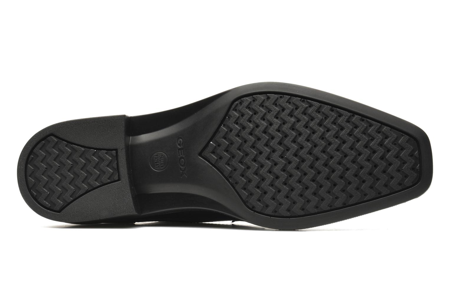 Lace-up shoes Geox U ALEX A ABX A U44C4A Black view from above