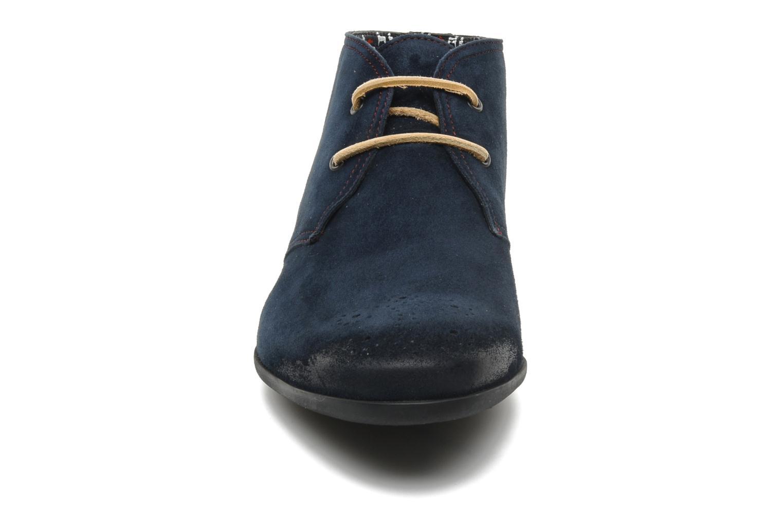 Scarpe con lacci Paul & Joe Player Azzurro modello indossato