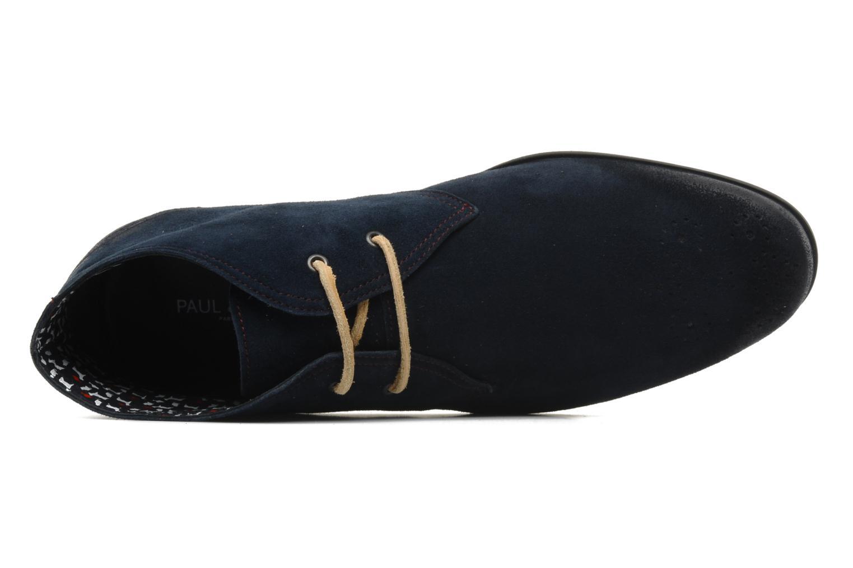 Scarpe con lacci Paul & Joe Player Azzurro immagine sinistra