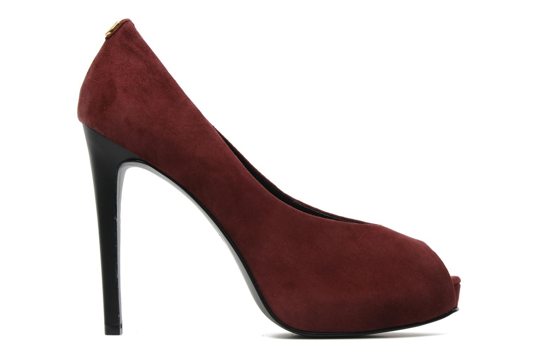 Zapatos de tacón Guess Hytner Vino vistra trasera