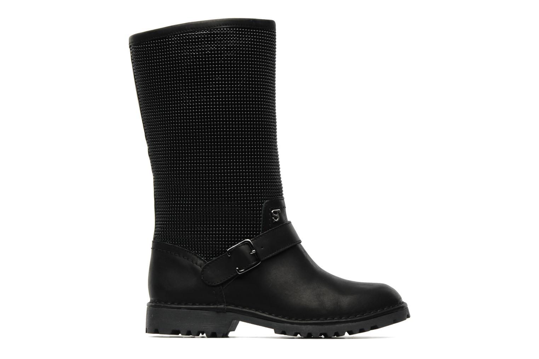 Stiefeletten & Boots Supertrash GUNMETAL BOOT schwarz ansicht von hinten