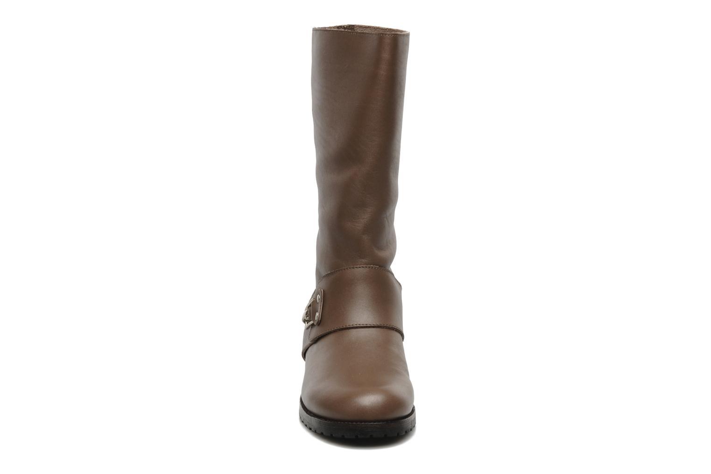 Stiefeletten & Boots See by Chloé Buck braun schuhe getragen