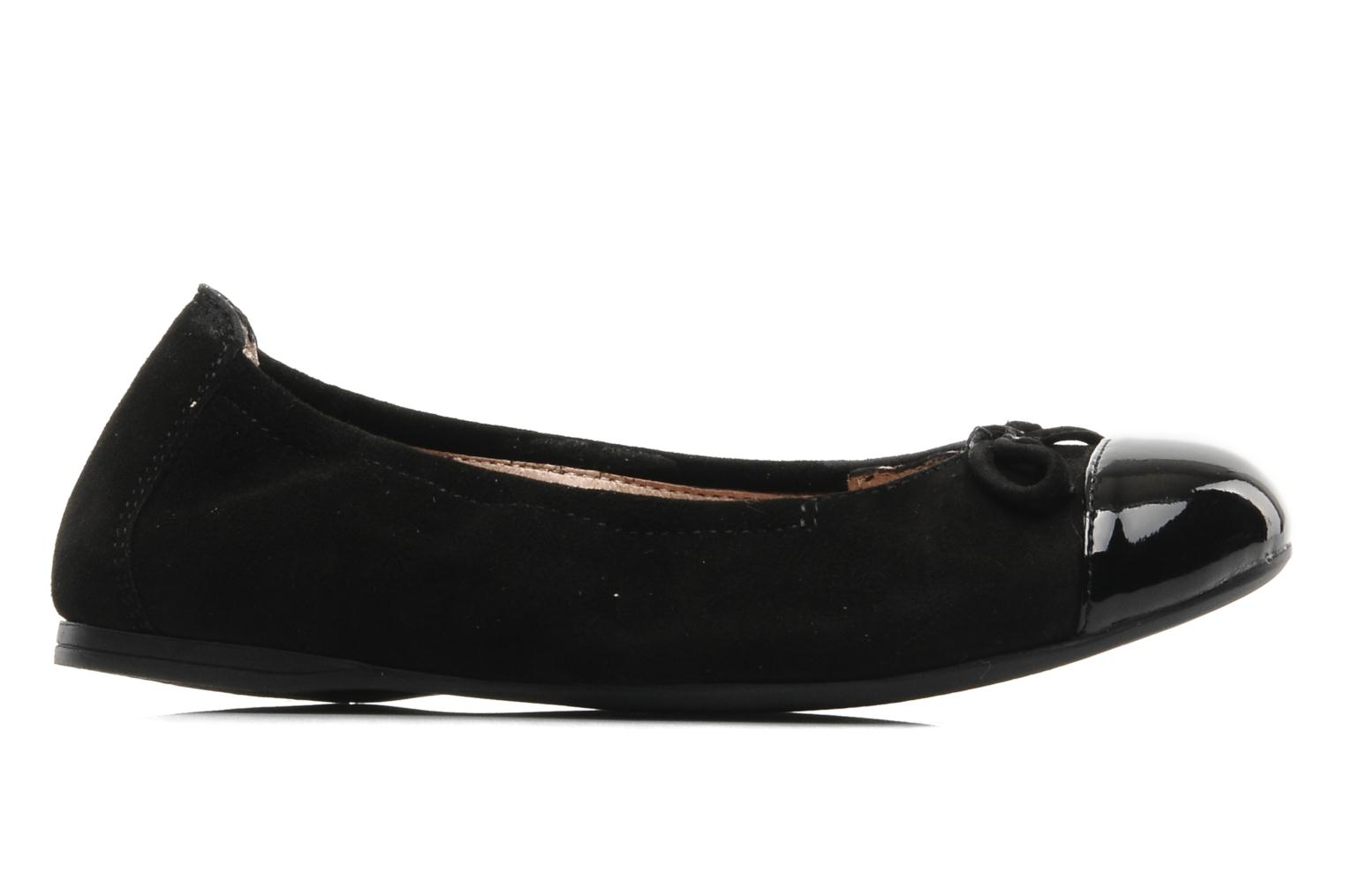 Ballet pumps Unisa Cino Black back view