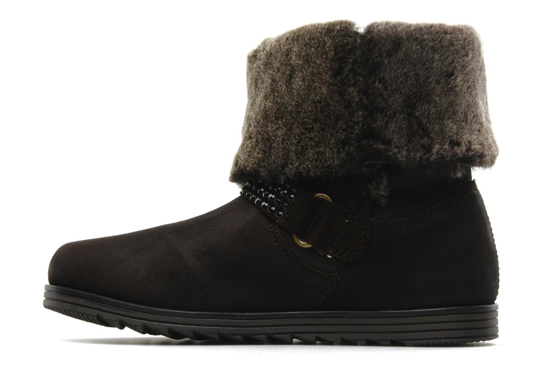 Boots en enkellaarsjes Unisa Ecco Bruin voorkant