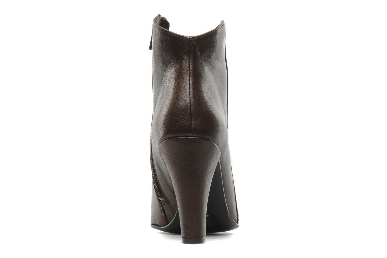 Bottines et boots M PAR M Coq Marron vue droite