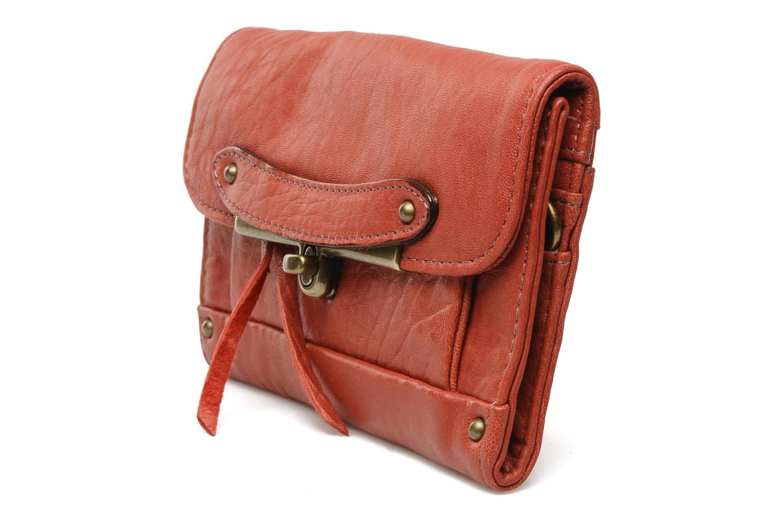 Portemonnaies & Clutches Abaco Simone rot schuhe getragen