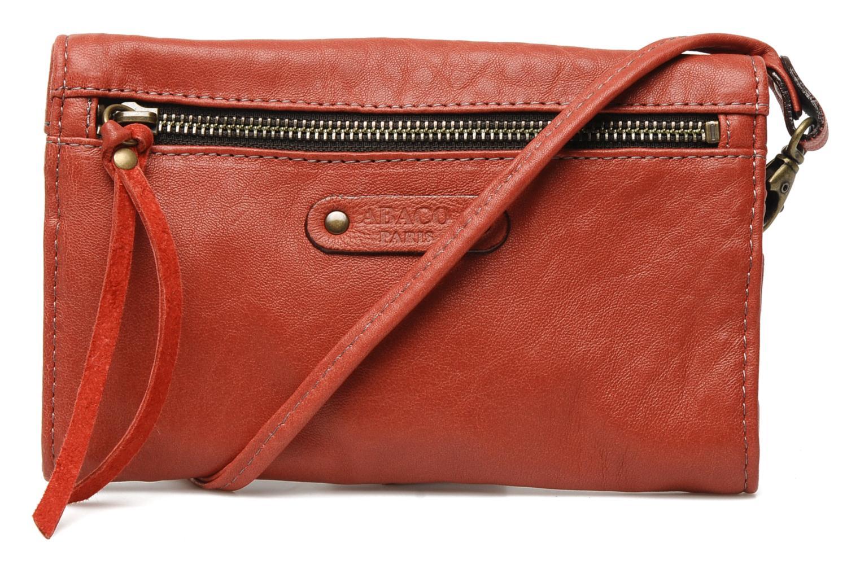 Portemonnaies & Clutches Abaco Simone rot ansicht von vorne