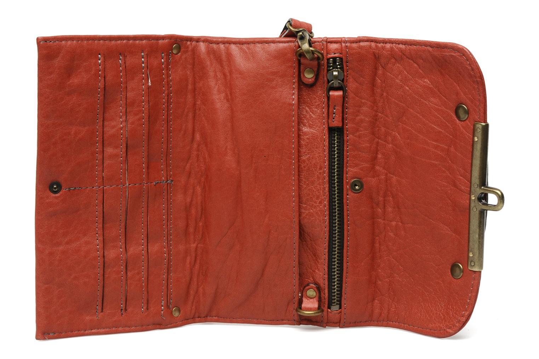 Portemonnaies & Clutches Abaco Simone rot ansicht von hinten