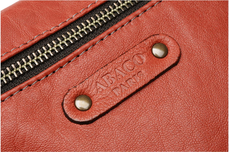 Portemonnaies & Clutches Abaco Simone rot ansicht von links