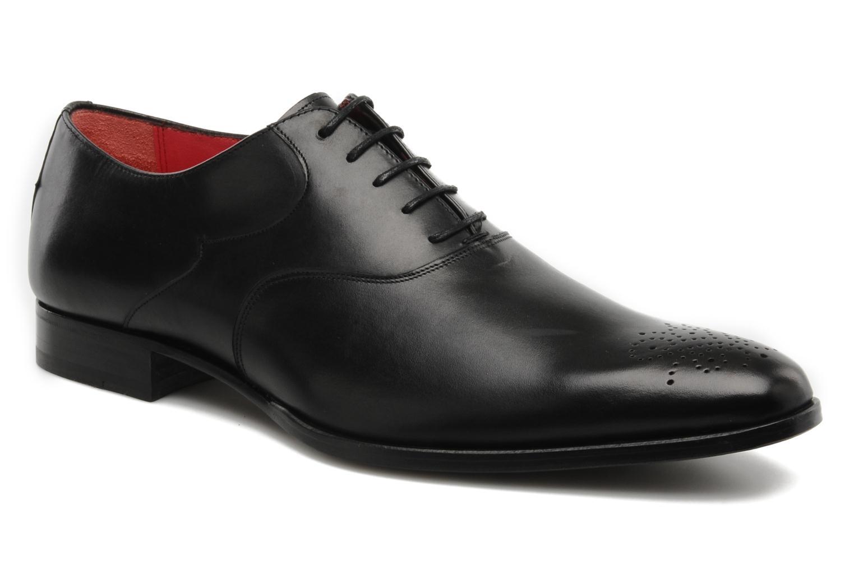 Zapatos con cordones Finsbury Winner Negro vista de detalle / par