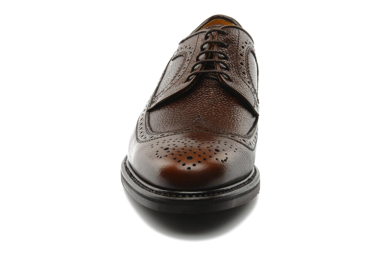 Chaussures à lacets Finsbury Barton Marron vue portées chaussures