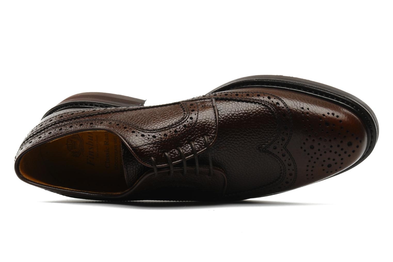 Chaussures à lacets Finsbury Barton Marron vue gauche