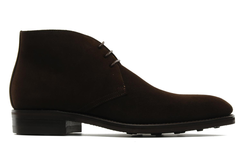 Chaussures à lacets Finsbury Chukka Marron vue derrière