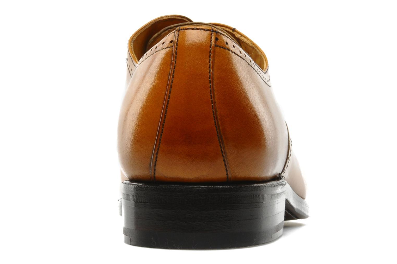 Scarpe con lacci Finsbury Diplomate Marrone immagine destra