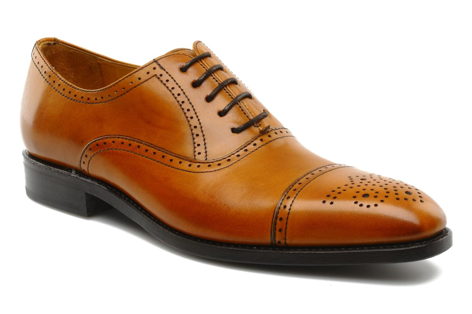 Lace-up shoes Finsbury Diplomate Brown detailed view/ Pair view