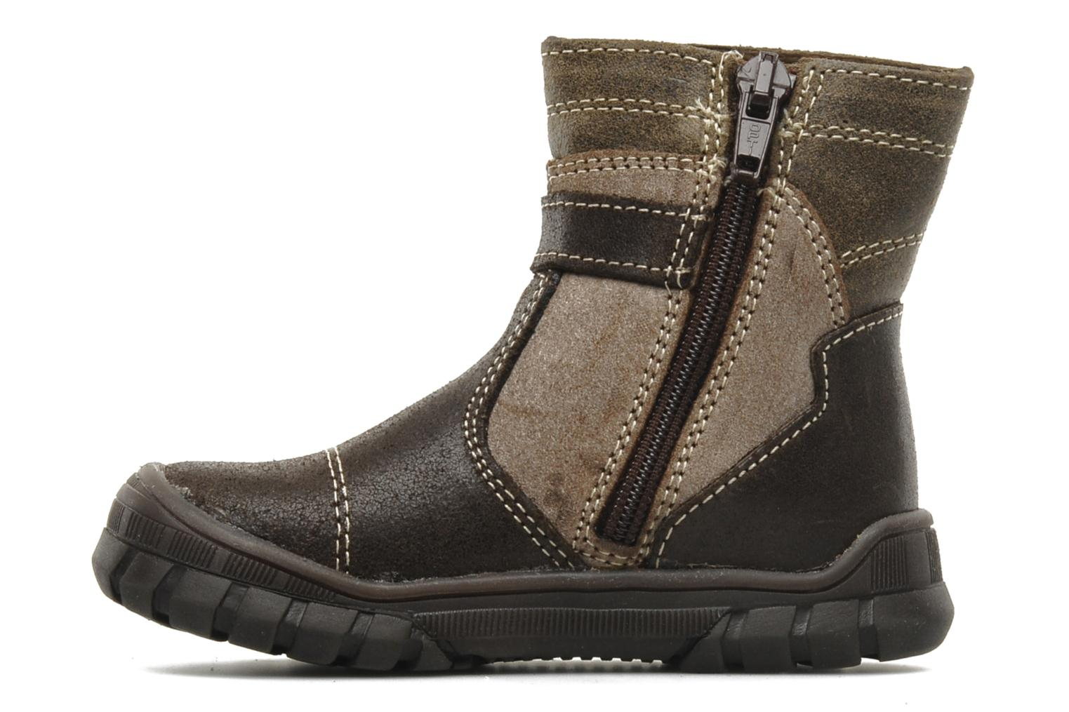 Ankle boots Bopy Bocari Brown front view