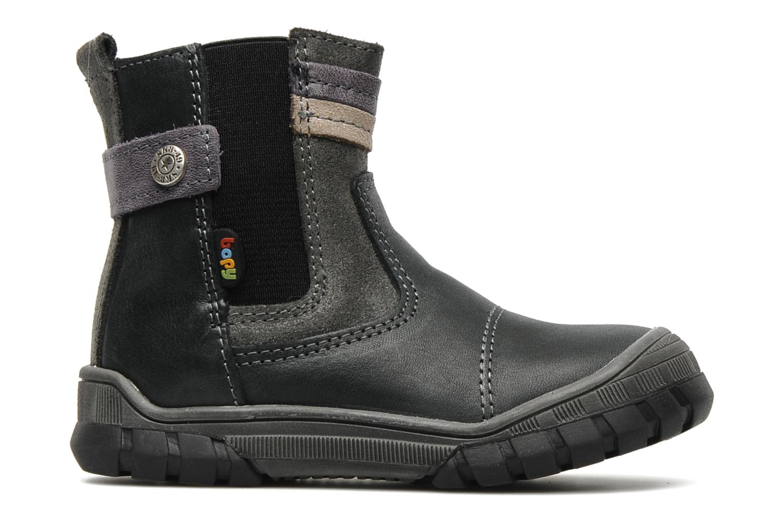 Stiefeletten & Boots Bopy Borg grau ansicht von hinten