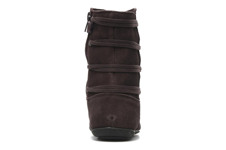 Stiefeletten & Boots Bopy Chocala lila ansicht von rechts