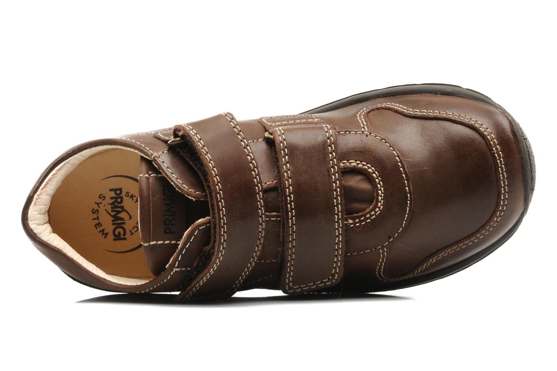 Sneaker Primigi Roky braun ansicht von links