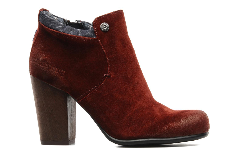Boots en enkellaarsjes Tommy Hilfiger JADE 4 B Rood achterkant