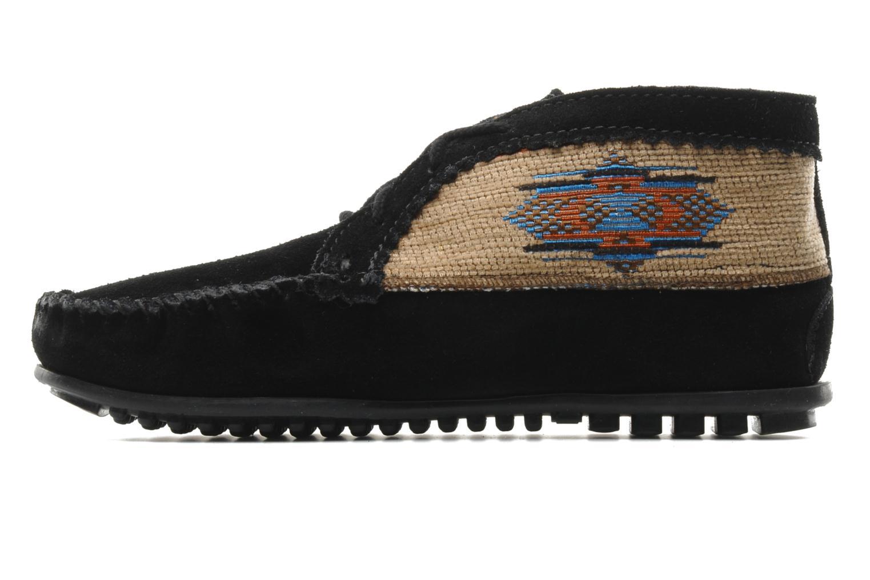 Bottines et boots Minnetonka EL PASO ANKLE BOOT Noir vue face
