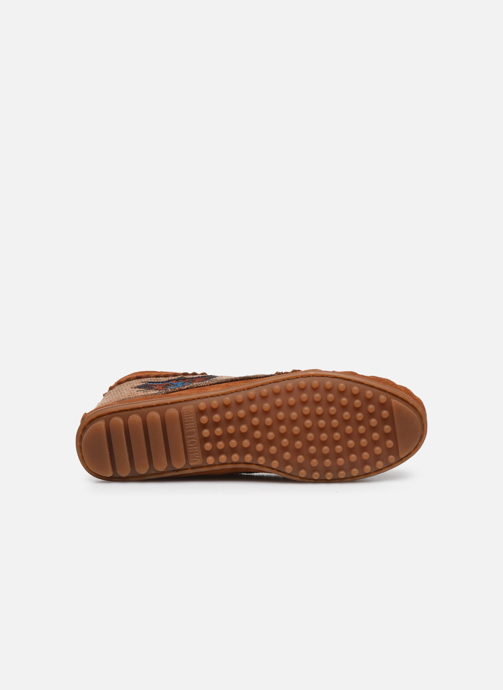 Boots en enkellaarsjes Minnetonka EL PASO ANKLE BOOT Bruin boven