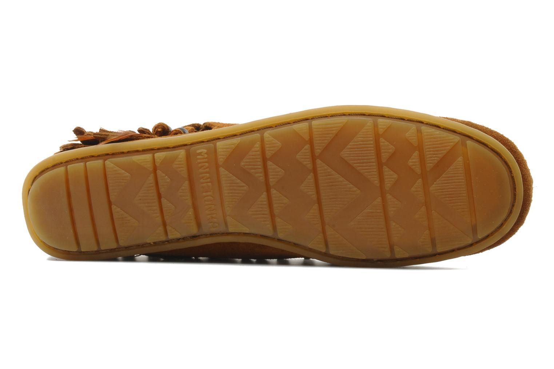 Bottines et boots Minnetonka CONCHOFEATHER BT Marron vue haut