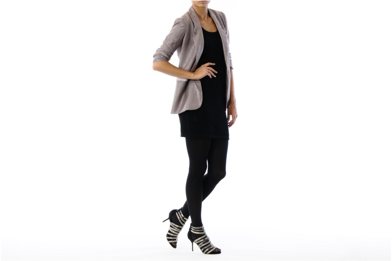 Sandalen Carvela ALESHA schwarz ansicht von unten / tasche getragen
