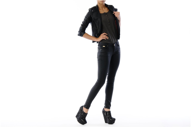 Stiefeletten & Boots Carvela GEORDIE schwarz ansicht von unten / tasche getragen