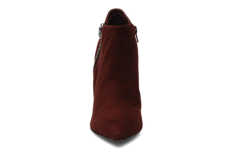 Bottines et boots Carvela SAMBA Bordeaux vue portées chaussures
