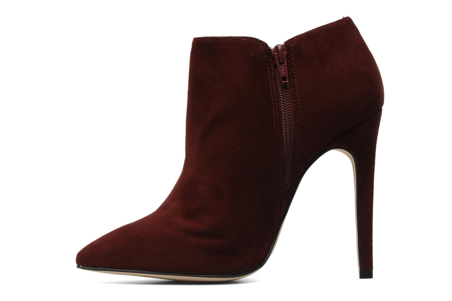 Ankle boots Carvela SAMBA Burgundy front view