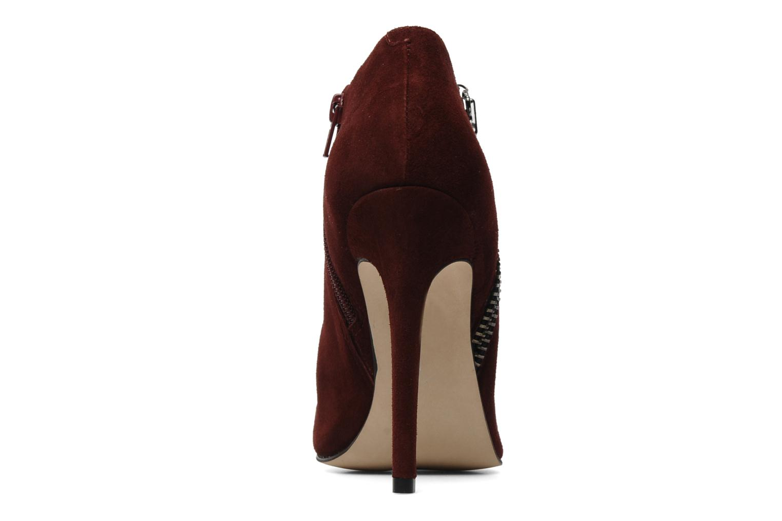 Ankle boots Carvela SAMBA Burgundy view from the right
