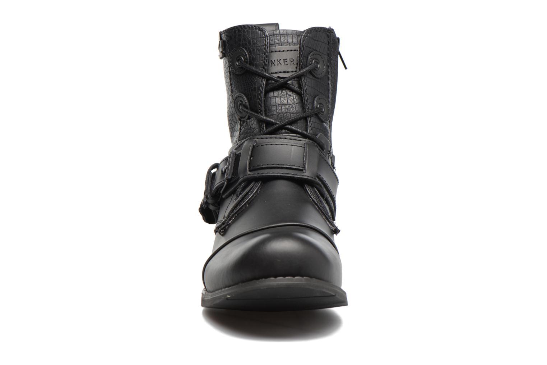 Bottines et boots Bunker Tara sozo Noir vue portées chaussures